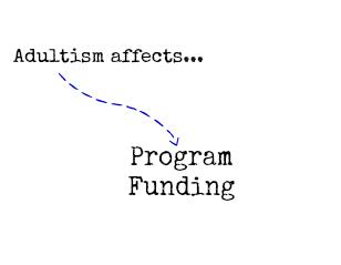 adultismaffectsprogramfunding