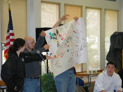 This is a picture of Adam Fletcher in Bothell, Washington at the Secondary Academy for Success in 2002.