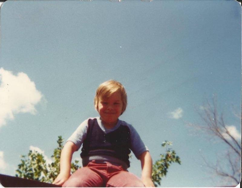 Adam Fletcher at age 6