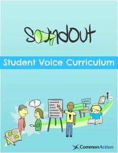 Cover of SoundOut Student Voice Curriculum by Adam Fletcher