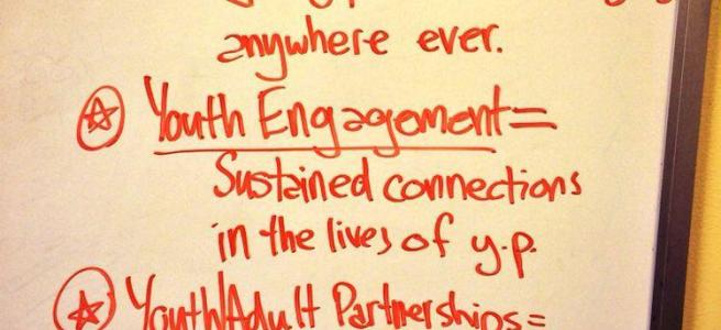 Definition of youth voice engagement by Adam Fletcher