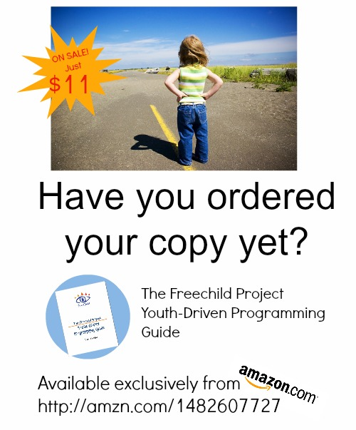 "<a href=""http://amzn.to/2FUXkyd"">Order The Freechild Project Guide to Youth-Driven Programming today!</a>"