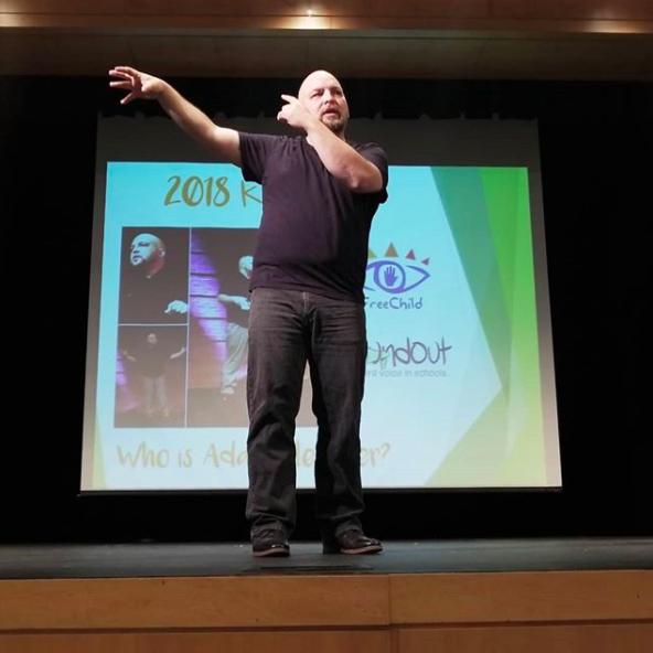 Adam Fletcher keynote speaking