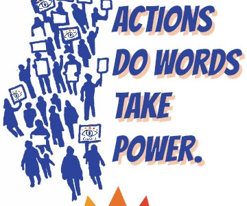"""""""Only through actions do words take power"""" is The Freechild Project motto."""
