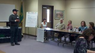 This is Adam Fletcher training educators in Yakima, Washington in 2012.