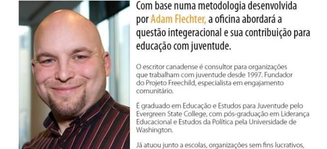 Adam Fletcher in São Paulo