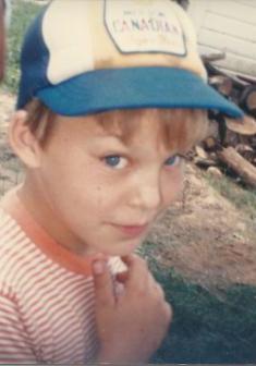 Adam at age 5