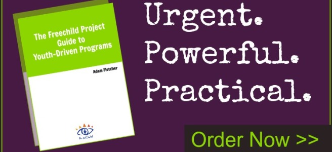 Order The Freechild Project Guide to Youth-Driven Programming today!