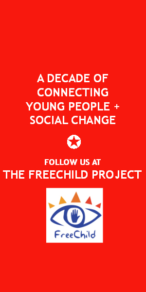 A decade of connection young people and social change. Follow us at The Freechild Project. www.freechild.org