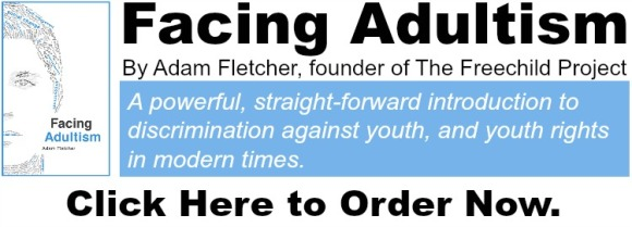 Order FACING ADULTISM by Freechild founder Adam Fletcher at http://amzn.to/2noYclH